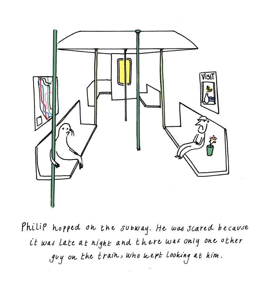 deanasobel.philip on the subway